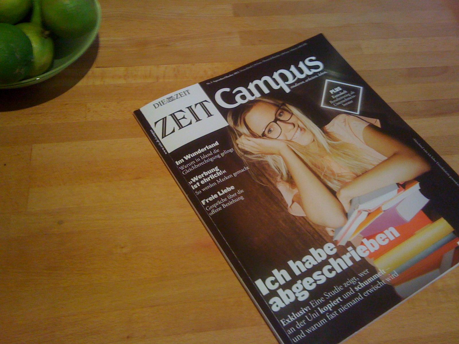 ZEIT CAMPUS Nr. 5 / 2012 (September / Oktober)