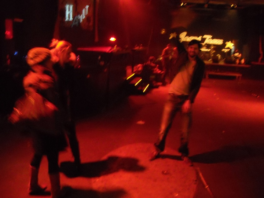 Jeans Team spielen Songs aus Das ist Alkomerz auf dem hamlit 2013