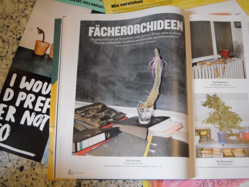 Spread Page ZEIT CAMPUS 3/13 (photo by Oskar Piegsa)