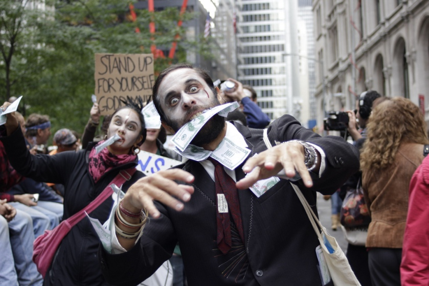 Occupy Zombies (CC-Photo by Timothy Krause)