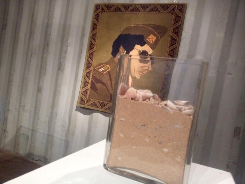 "Ausstellung ""Crisis"" in der Galerie Genscher, November 2014 (Foto: Oskar Piegsa)"