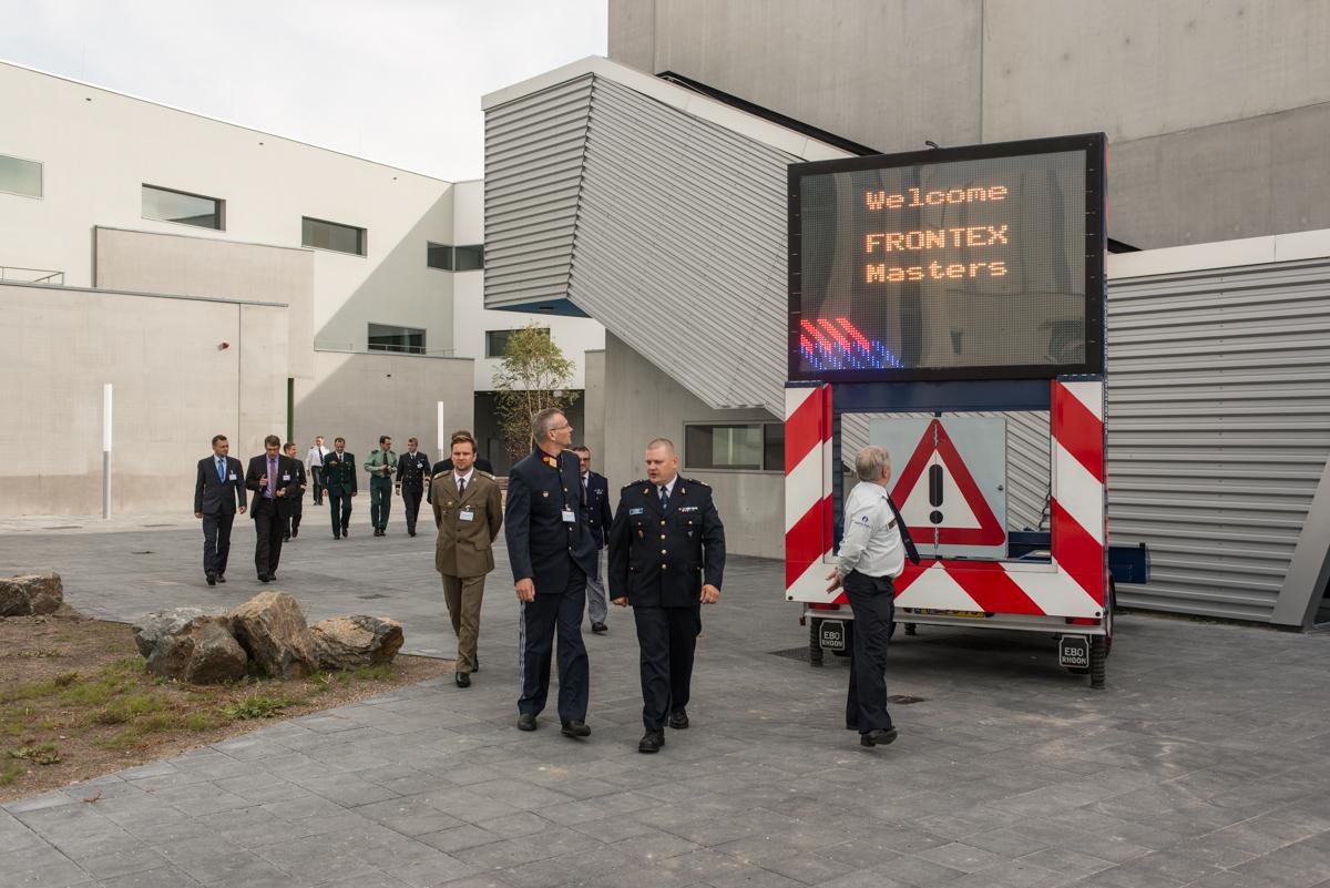 Frontex kann man jetzt studieren: Im neuen Master fürGrenzschützer