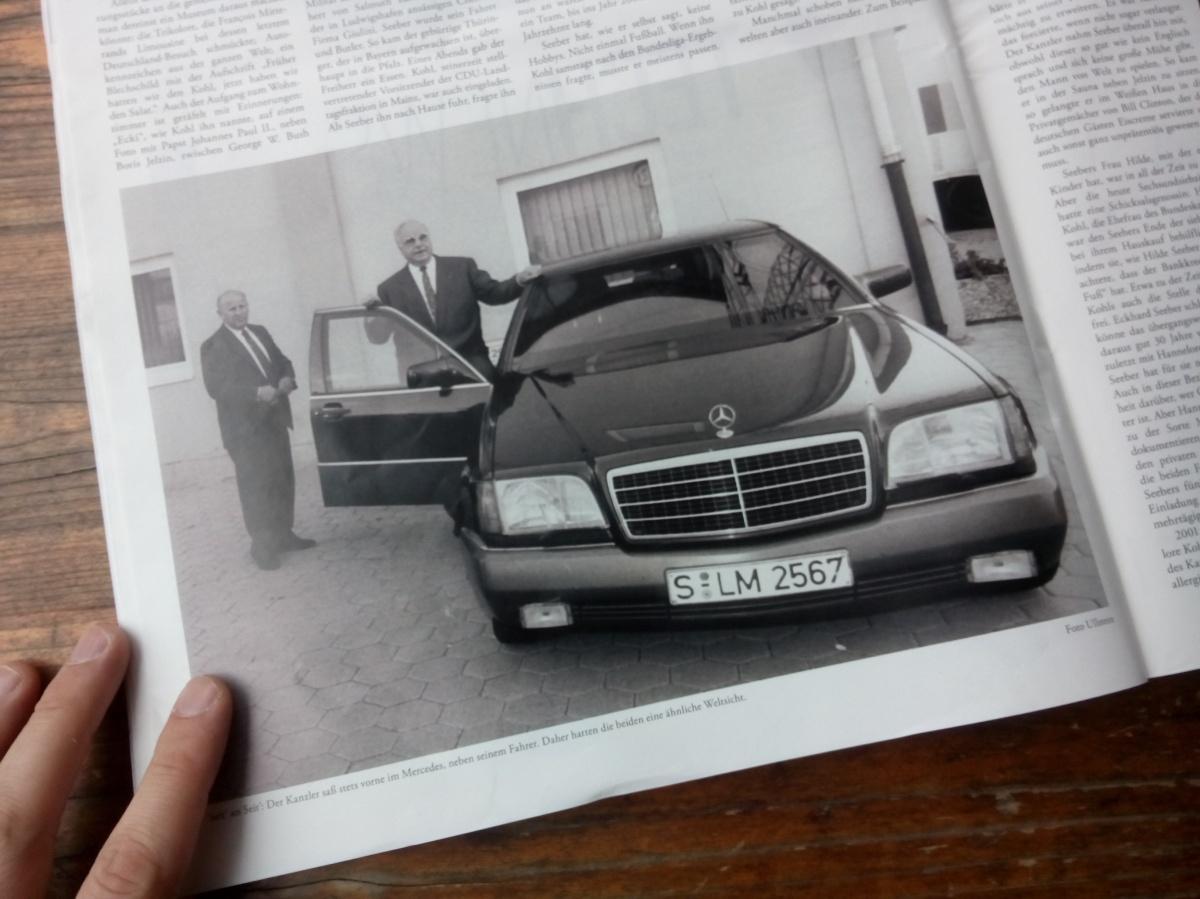 Helmut Kohl, OG