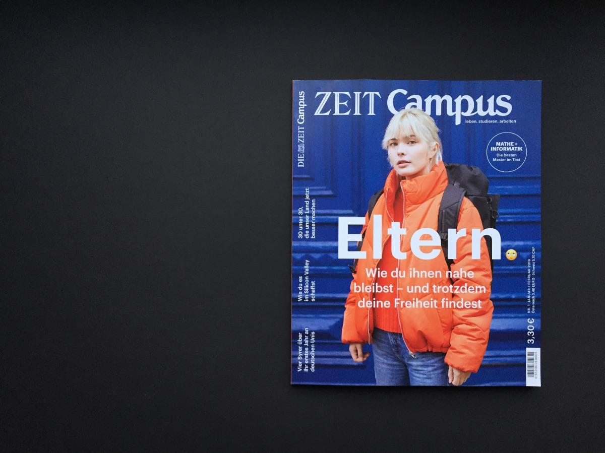 Die neue ZEIT CAMPUS: Eltern🙄