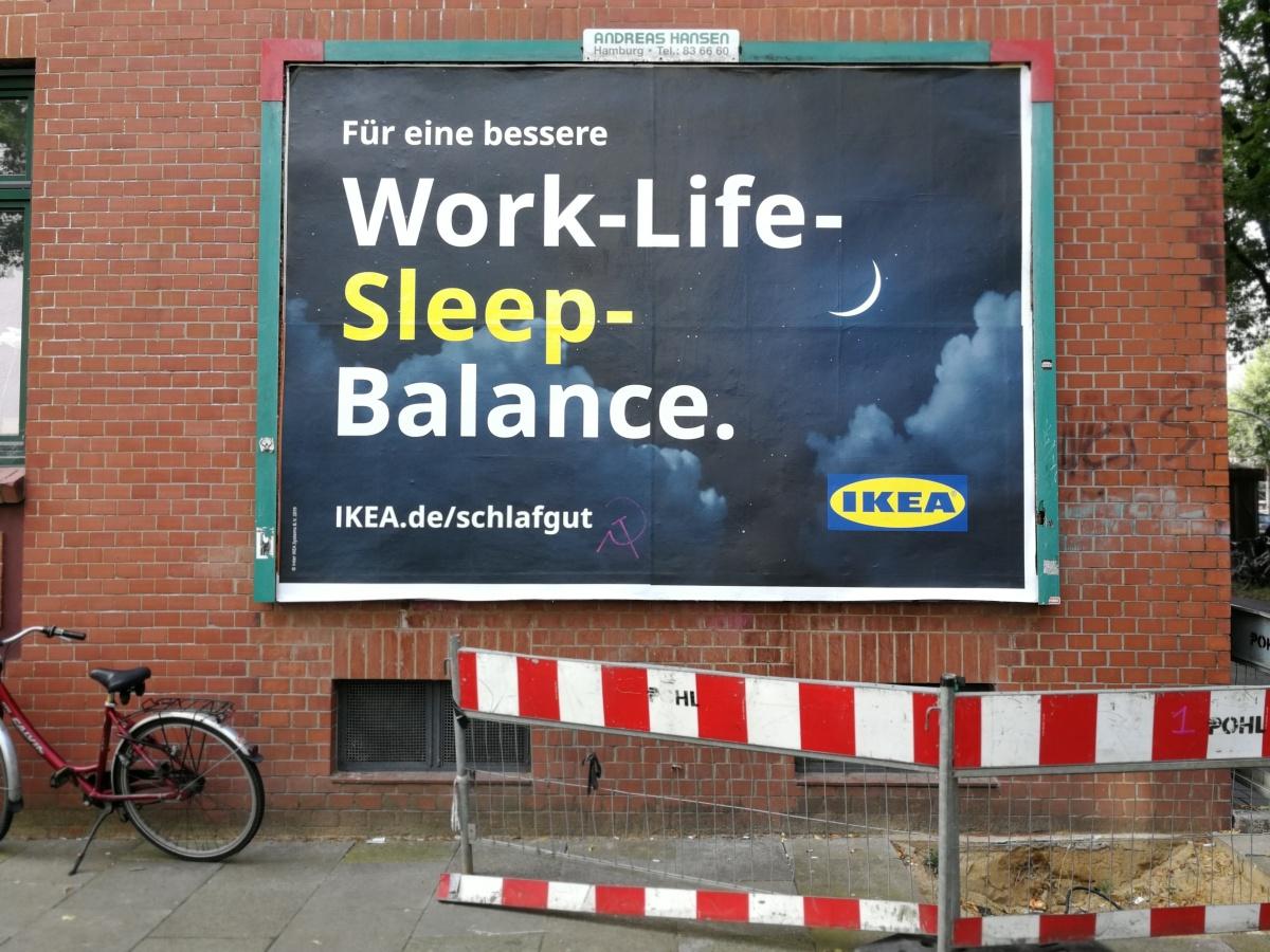 Schlaf gut, sagt derKapitalismus