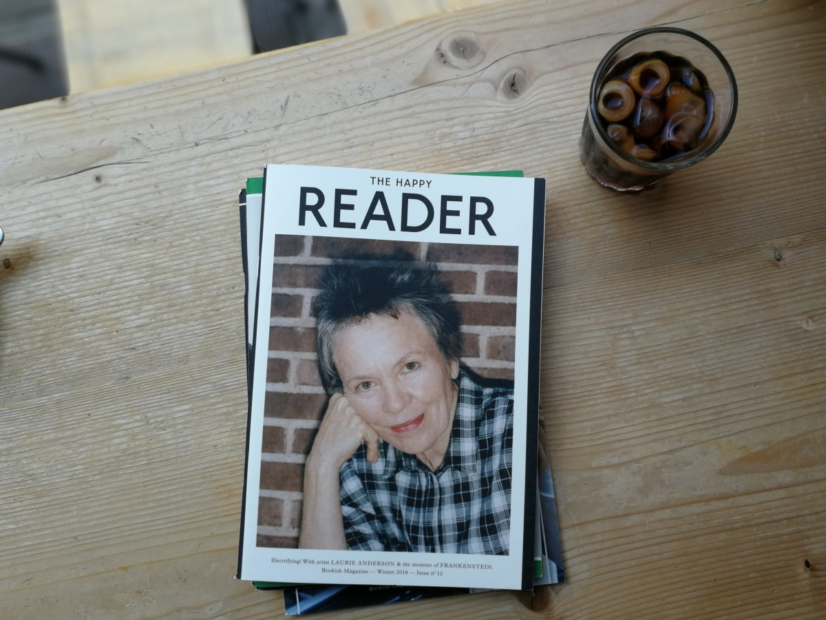 Still ❤'ing Magazines (#1): The Happy Reader