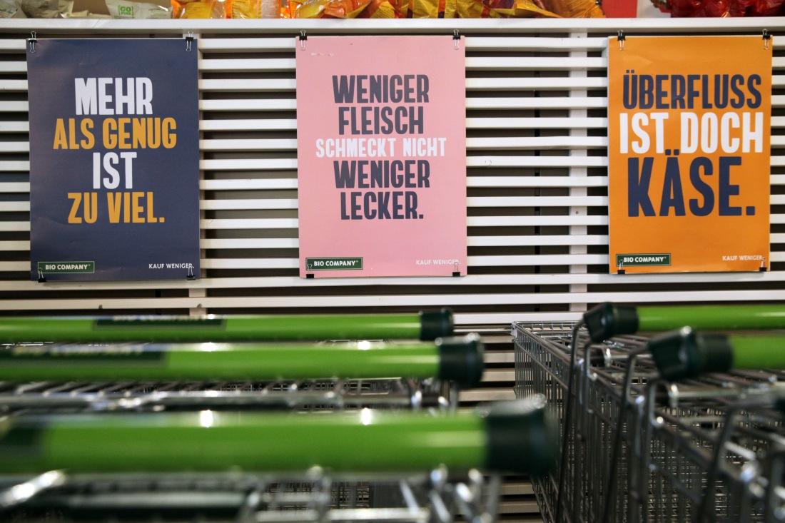Sozialexperiment: fast 62 % zahlen zu wenig für Bio Produkte