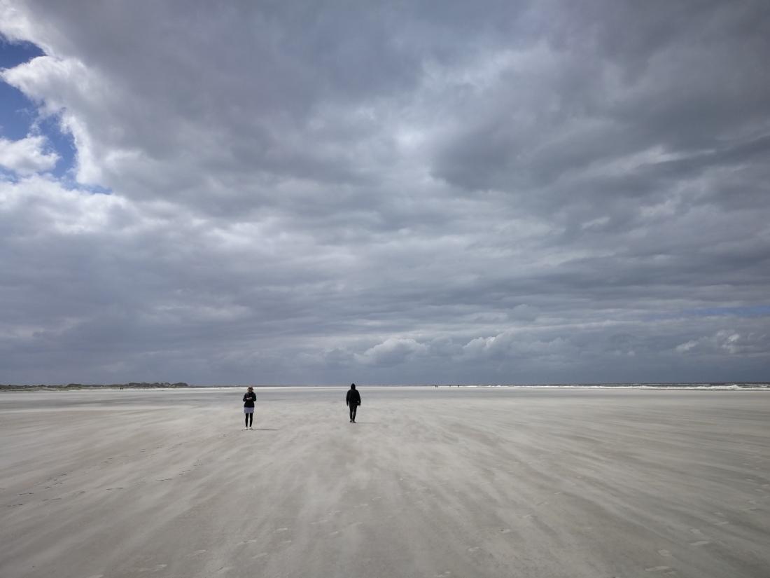 Strand im Osten Norderneys